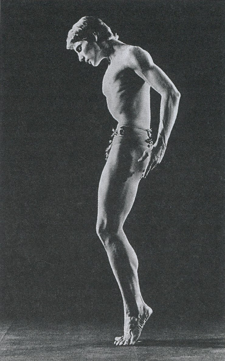 Tiit Härm in ballet «Daphnis and Chloe»